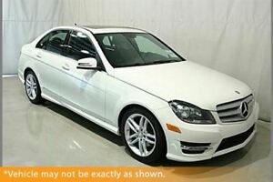 2013 Mercedes-Benz C-Class C 300 4MATIC AWD Sunroof AMG Pkg
