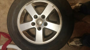 REDUCED to 180 for 4 Rims that came off a 2012 Grand Caravan