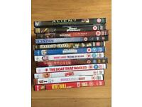 12 DVDs - All in excellent condition
