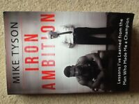 Mike Tyson Iron Ambition Paperback Book