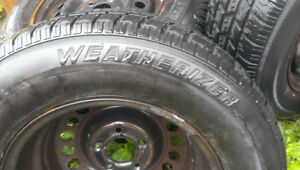 All Season Tires and Rims - P215 / 70R15 97S Weatherizer