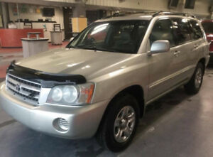 2003 Toyota Highlander, 4Cyl, cheap in gas. clean title, AS IS