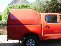Truckman Top Toyota Hilux D/C 2009 ,RED