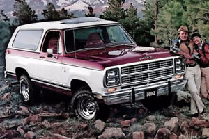 1986-87 dodge ramcharger wanted to buy