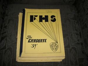1959 Fredericton High School Yearbook