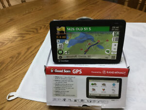 7 INCH RV GPS. RAND MCNALLY MODEL RVND. 7735 LM