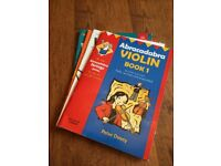 Beginners violin books