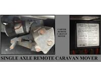 Caravan Or Trailer Remote Control Motor Mover Single Axle Bargain.