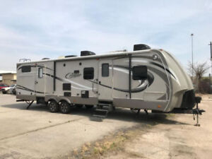 2013 Cougar 329TSB High Country Camper