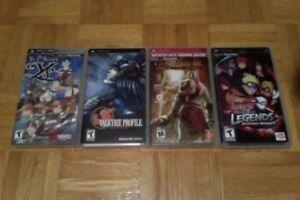 Lot 4 jeux PSP