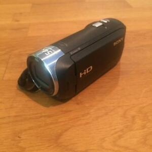 HD Video Camera/Recorder - Sony HDR-CX240