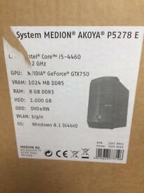 Medion Akoya - I5 - Gaming PC