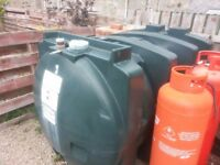 2500litre heating oil tank Titan H2500 for uplift