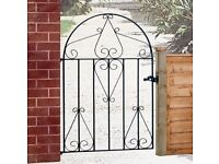 *NEW* Burbage Iron Craft Black Low Bow Classic Gate CLB53