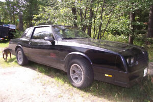 1988 SS Monte Carlo classic car and gorgeous