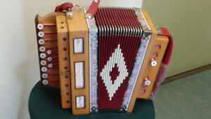 Accordeon - Accordion organetto 2 bass et 4 bass