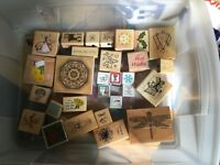 Job lot stamps for ink