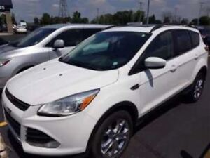 2014 Ford Escape SE AWD! LEATHER! PANORAMIC SUNROOF! $63/WK, 4.7