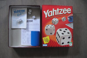 YAHTZEE by Parker Brothers