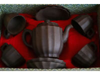 Chinese Earthenware Tea Set - Perfect Condition - £15
