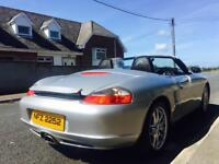 Porsche Boxster 2.7 roadster in mint condition may px swap 5995