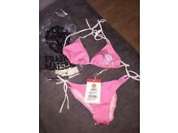 Franklin and Marshall Aurora Pink Bikini