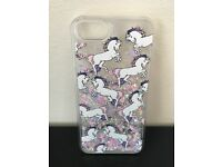 Unicorn Glitter Liquid Iphone 7 Case