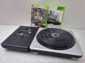 Xbox Game - DJ Hero 1 & 2 - £15 pound each - includes game and turntable