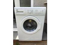 6kg Beko Washing Machine less than 1 year old minimum use