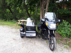 1992 BMW K750 and Sputnik Sidecar
