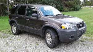 2006 Ford Escape XLT SUV, Crossover - for PARTS