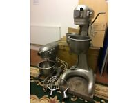 Two 12qtz Hobart mixers for sale