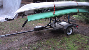 Bike & kayak trailer
