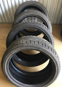 Winter Tires staggered 245/40R20 99V & 275/35R20 102 Pirelli 95%