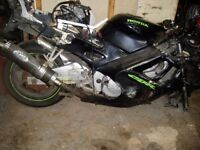 Honda cbr600 f2 f3 f4 's brraking for spares only