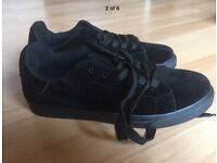 Low top laced plimsolls size 6 brand new