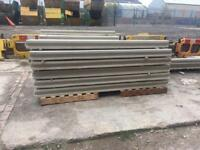 8ft intermediate concrete posts reinforced