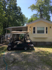 GOLF CARTS AND COTTAGE AVAILABLE TO RENT AT SHERKSTON SHORES