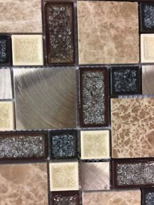 Brushed Mosaic Tile  -  World Class Carpets & Flooring