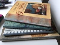 Selection of Annie Sloan Books for upholstery or decorating