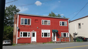 Commercial space for rent on 350 King St. over all size Appx450