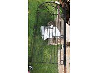 Black garden gate for sale