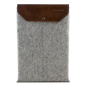 Graf Lantz iPad case felt and leather