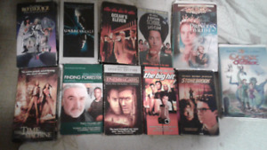 14 VHS tapes