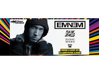 2 x tickets to see Eminem, Run the Jewels and Danny Brown at Glasgow Summer Sessions