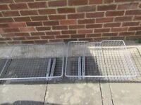 Ikea Komplement wardrobe baskets and railings