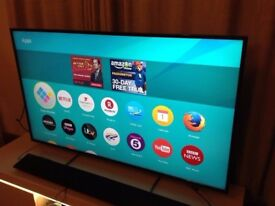 PANASONIC 55-inch ULTRA HD 4K HDR Smart LED TV, 1000Hz, built in Wifi,Freeview Play, good condition