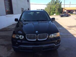 Black BMW X5