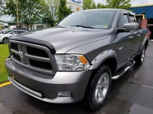 2010 Dodge RAM 1500 SPORT 4X4 QUAD CAB V8 - HITCH + A/C!!