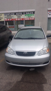 2007 Toyota Corolla .finance available